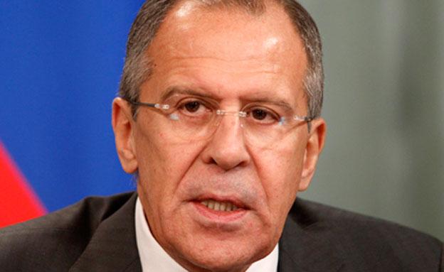 שר החוץ הרוסי, סרגיי לברוב (צילום: רויטרס, חדשות)