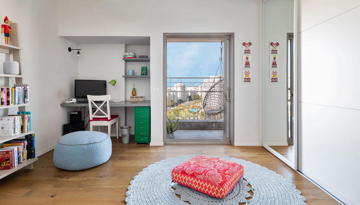 דירה במרכז, עיצוב אסתי נחמיאס, חדר ילדים -1