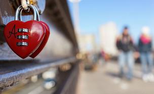 מנעול אהבה על גשר ברוקלין (צילום: Spencer Platt - getty)