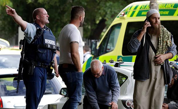 הירי בניו זילנד: 50 נהרגו (צילום: ap, חדשות)
