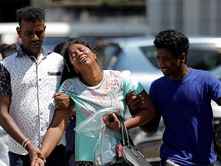 סרי לנקה אחרי הפיגוע (צילום: רויטרס, חדשות)