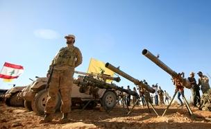 כוחות חיזבאללה יחד עם צבא לבנון (צילום: רויטרס, חדשות)
