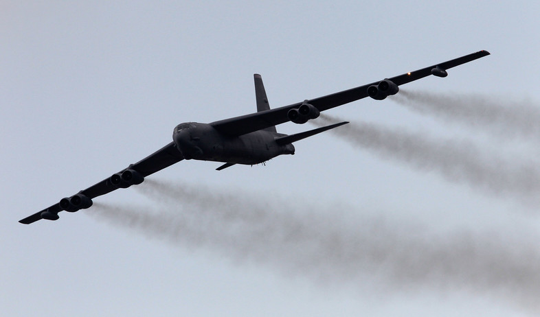 מפציץ B-52 (צילום: Tom Pennington, GettyImages)