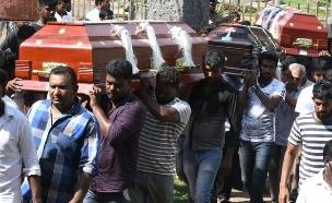 הפיגועים בסרי לנקה: 359 נהרגו (צילום: Sky News, חדשות)