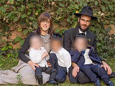 """משפחת נוטיק (צילום: באבידות בית חב""""ד, חדשות)"""
