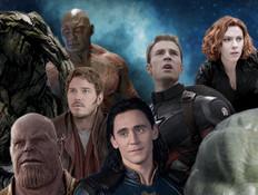 """מארוול: הדמויות הכי טובות (צילום: תמונות: יח""""צ באדיבות yes, יח""""צ פורום פילם; עיצוב: סטודיו mako)"""