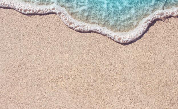 חוף הים מלמעלה (צילום:  Lidiya Oleandra, ShutterStock)
