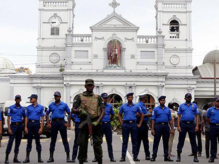 נשיא סרי לנקה מאשים את המשטרה והממשלה