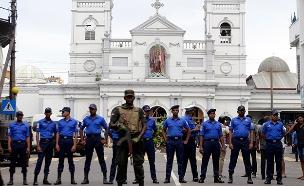 נשיא סרי לנקה מאשים את המשטרה והממשלה (צילום: AP, חדשות)
