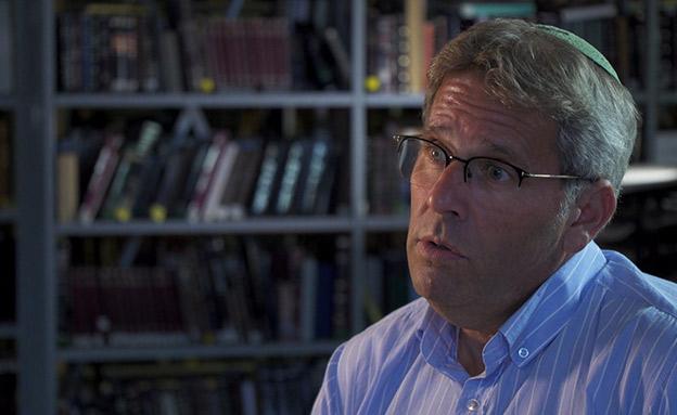 """ד""""ר פישר. """"סיפור ל 60% מהתלמידים"""" (צילום: החדשות)"""