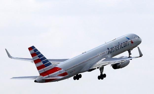 מטוס אמריקן איירליינס (צילום: רויטרס, חדשות)