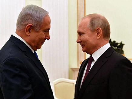 פגישת פוטין-נתניהו, בתחילת החודש