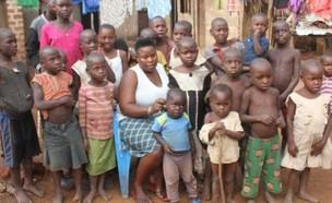 משפחה אוגנדית (צילום: Kenya Citizen TV)