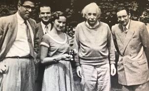 צפו: התיעוד הנדיר של איינשטיין (צילום: סינמטק ירושלים - ארכיון ישראלי לסרטים, חדשות)