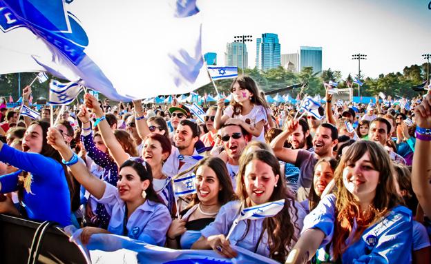 חגיגות יום העצמאות, ארכיון (צילום: IAC, חדשות)