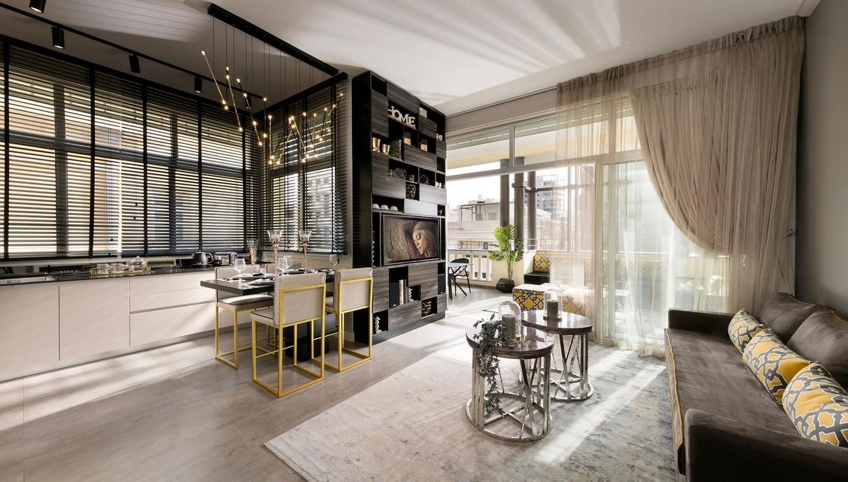 דירה בתל אביב, עיצוב אריאלה עזריה ברקוביץ