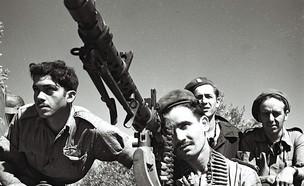"""מ ג 34 במלחמת העצמאות  (צילום: Zoltan Kluger, לע""""מ)"""