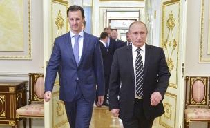פוטין ואסד (ארכיון) (צילום: רויטרס, חדשות)