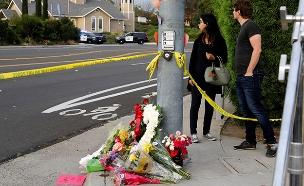 זירת הפיגוע בסן דייגו (צילום: רויטרס, חדשות)