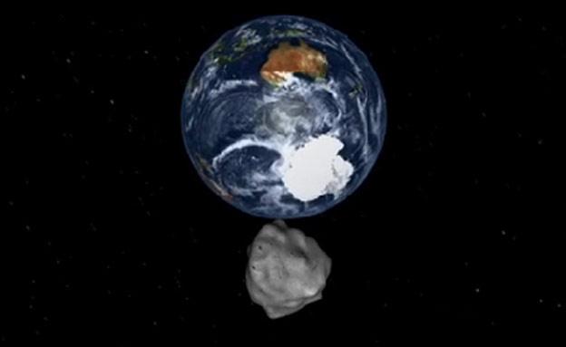 אסטרואיד ענק בדרך לכדור הארץ (צילום: נאסא, חדשות)