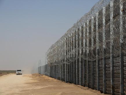 גדר ההפרדה (צילום: Marc Israel SellemPOOL)