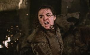 משחקי הכס עונה 8 פרק 3, אריה סטארק (צילום: Helen Sloan/HBO)
