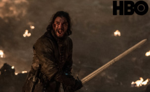 משחקי הכס עונה 8 פרק 3, ג'ון סנואו (צילום: Helen Sloan/HBO)