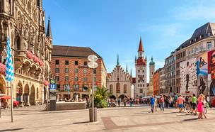מינכן (צילום:  BAHDANOVICH ALENA, shutterstock)