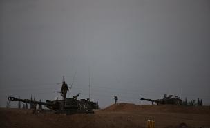 תקרית ירי בגבול עזה. ארכיון (צילום: רויטרס, חדשות)