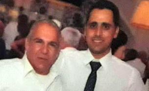 """משה אגדי (משמאל) ז""""ל (צילום: באדיבות המשפחה, חדשות)"""