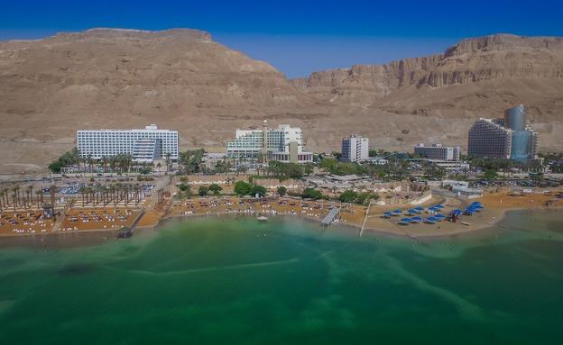 אזור המלונות בים המלח (צילום: Edi Israel/Flash90, חדשות)