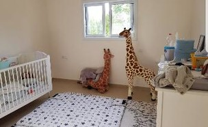 חדר ילדים, עיצוב מיכל בן אביר (צילום: מיכל בן אביר)