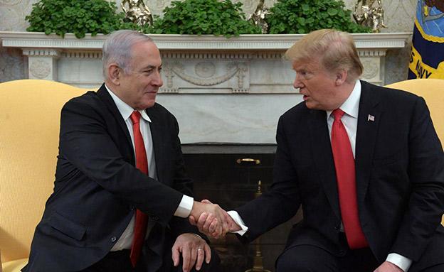 """טראמפ: """"עומדים לצד ישראל"""" (צילום: עמוס בן גרשום / לע""""מ, חדשות)"""