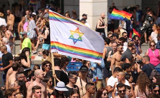 מצעד הגאווה 2017 (צילום: עופר חן)