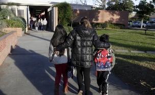 ילדים, תלמידים, בית ספר, ארהב (צילום: רויטרס, חדשות)