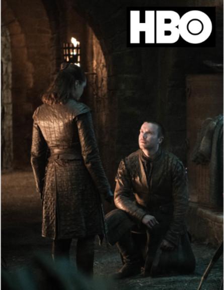 משחקי הכס עונה 8 פרק 4, גנדרי ואריה (צילום: Helen Sloan/HBO)