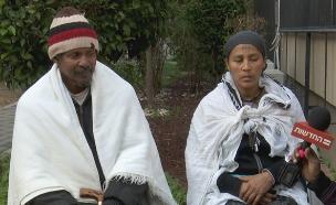 """הוריו של יהודה ביאדגה ז""""ל (צילום: החדשות)"""
