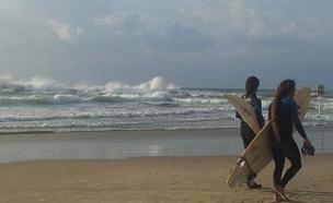 ים, חורף, סתיו (צילום: מורן כץ, חדשות)