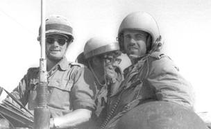 """חיילי צה""""ל, תעלת סואץ,  (צילום: צוות יפפ""""א, מתוך ארכיון דן הדני)"""