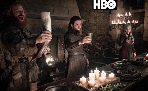 משחקי הכס עונה 8 פרק 4, ג'ון מרים לחיים (צילום: Helen Sloan/HBO)