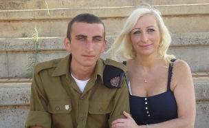 דניאל מרש ז''ל ואמו דיאנה (צילום: באדיבות המשפחה, חדשות)