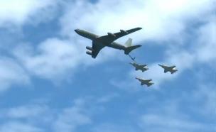 מטס חיל האויר ליום העצמאות ה-71 (צילום: החדשות)