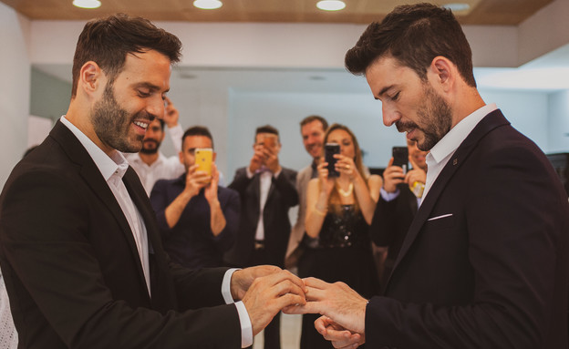 החתונה של נעם חורב (צילום: דוברות הטכניון)