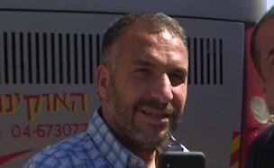 """רון קובי ואוטובוס השבת (צילום: מתוך """"אנשים"""", קשת 12)"""