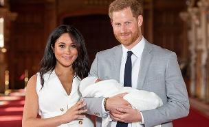 הנסיך הארי, מייגל מרקל והתינוק הארצ'י (צילום: רויטרס, חדשות)