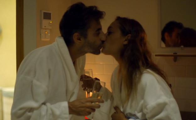 """מה הרס לדיקלה ואלון את הדייט? (צילום: מתוך """"חתונה ממבט ראשון 2"""", קשת 12)"""