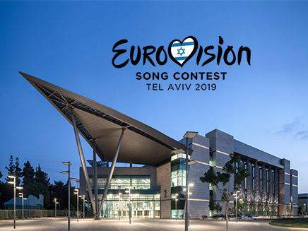 אולם התחרות. EXPO תל אביב