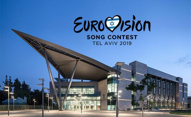אולם התחרות. EXPO תל אביב (צילום: עמית גירון, חדשות)