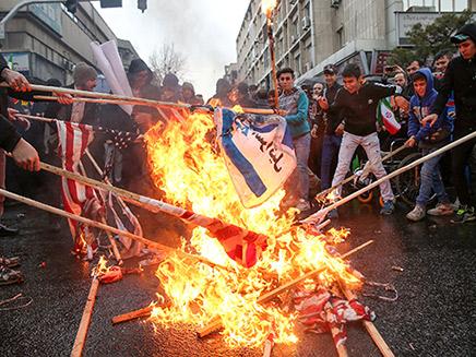 הזעם באירן יגלוש לצעדים מול ישראל? (צילום: רויטרס, חדשות)