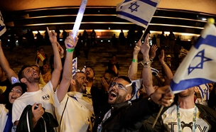 מוקד המסיבות הרשמי - בהאנגר 11 (צילום: רויטרס, חדשות)